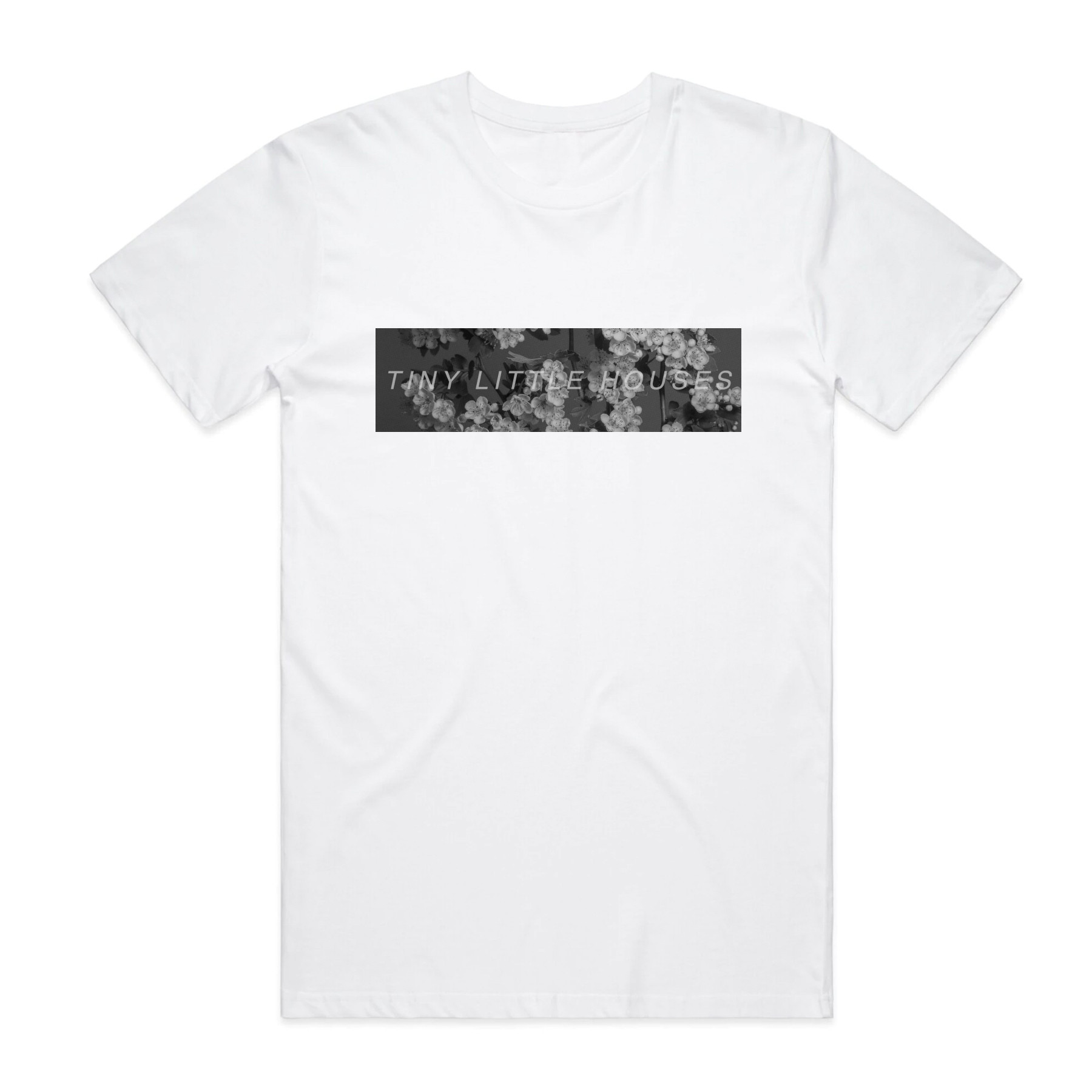 Tiny Little Houses - Richard Cory White Tee