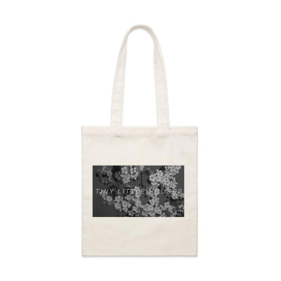 Tiny Little Houses - Richard Cory Calico Tote